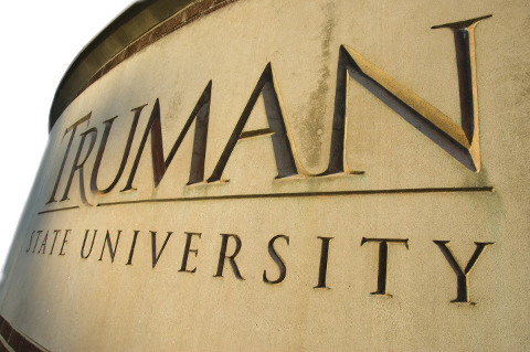 Truman State University sign